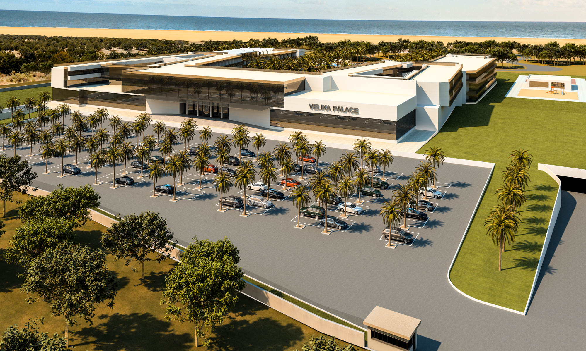 Proyecto Hotel Velika Palace de 450 habitaciones en Motenegro