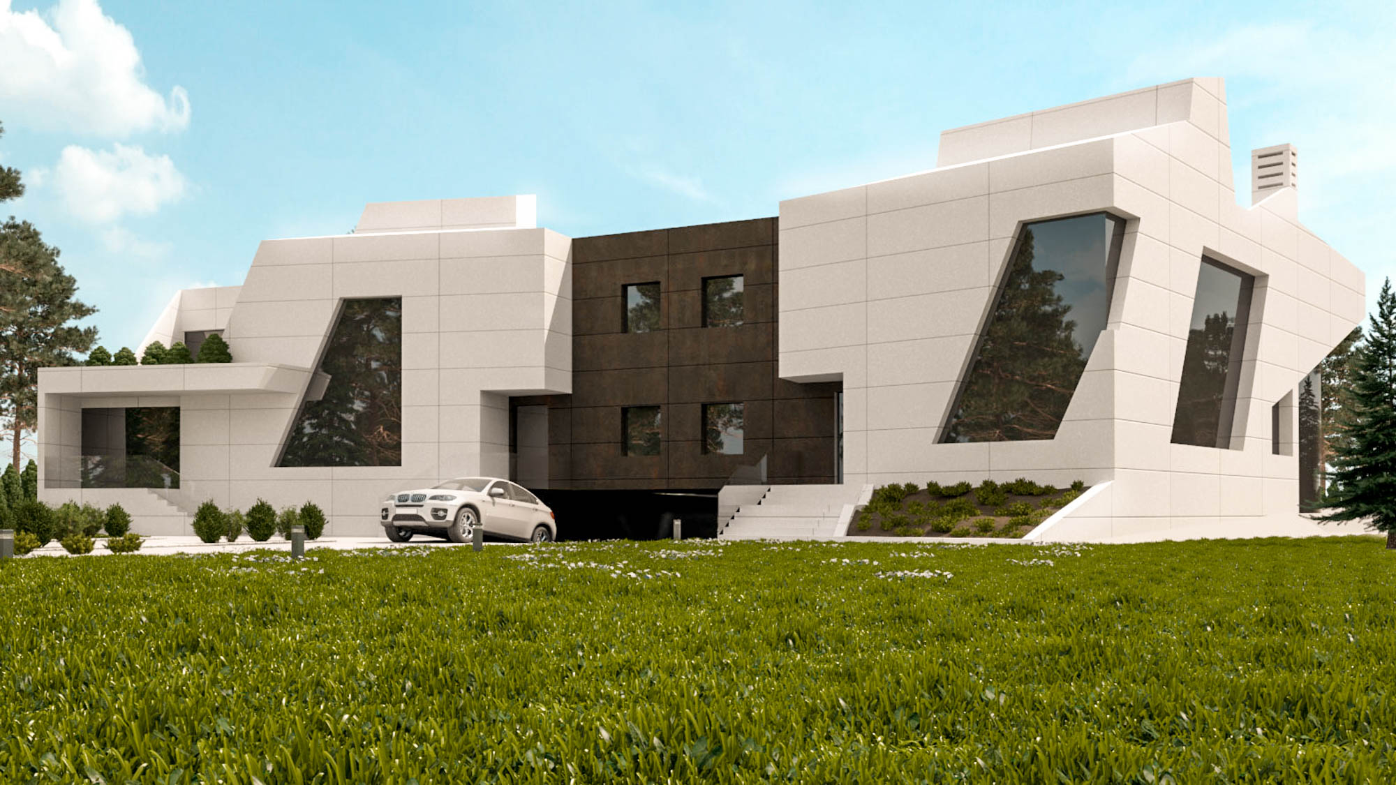 Proyecto de dos viviendas unifamiliares adosadas