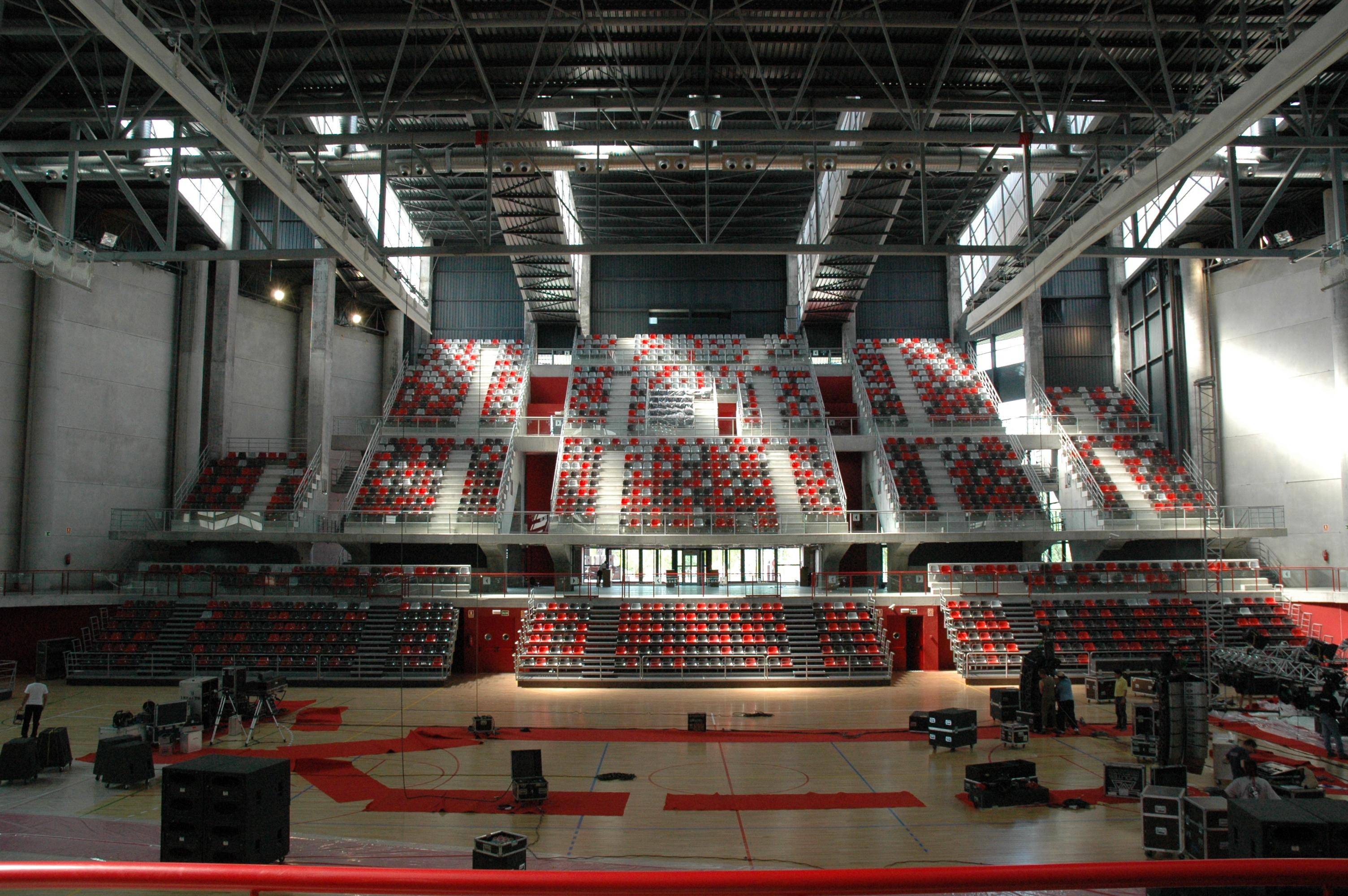 Polideportivo Municipal Principes de Asturias en Pinto