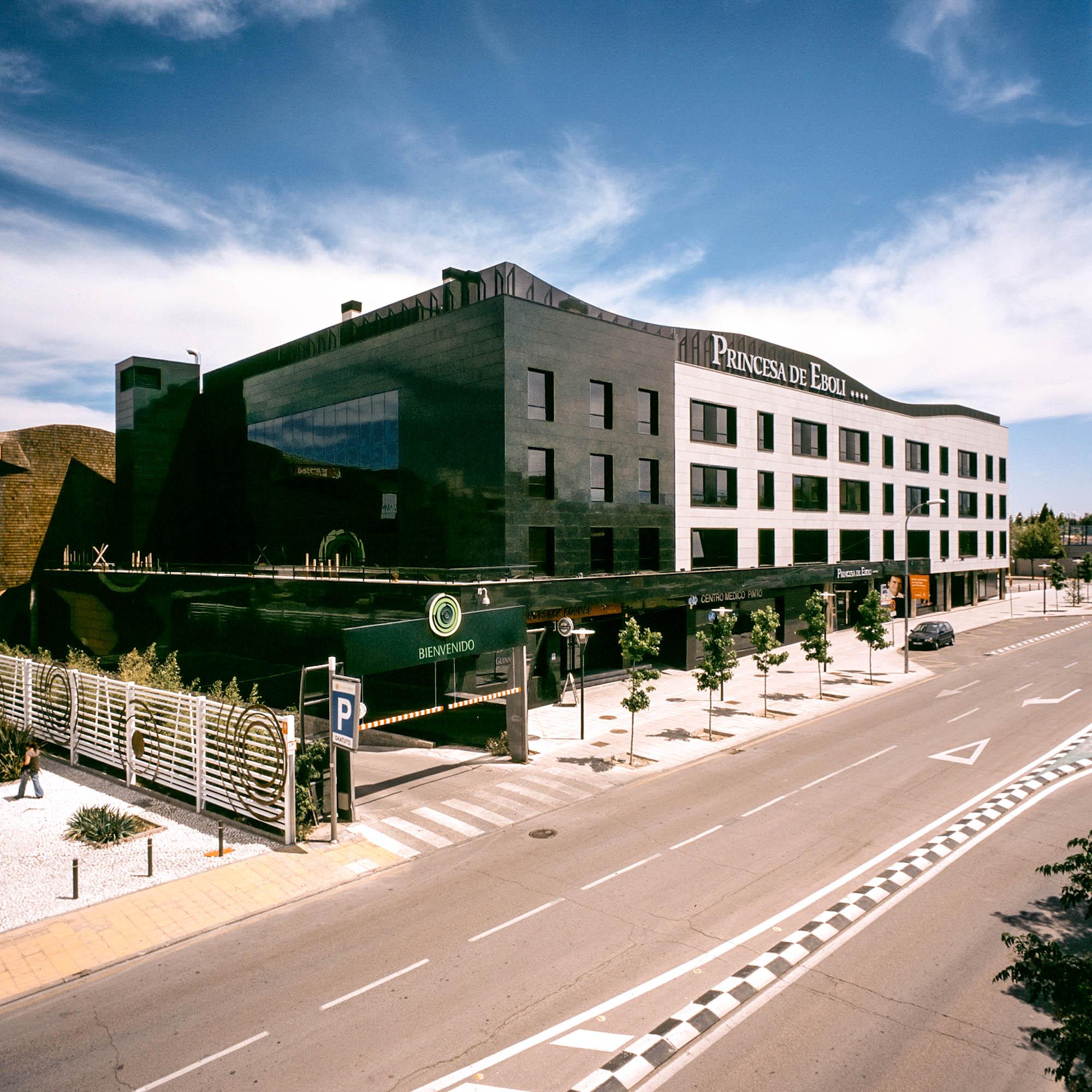 Edificio de Apartahotel Princesa de Eboli y Oficinas