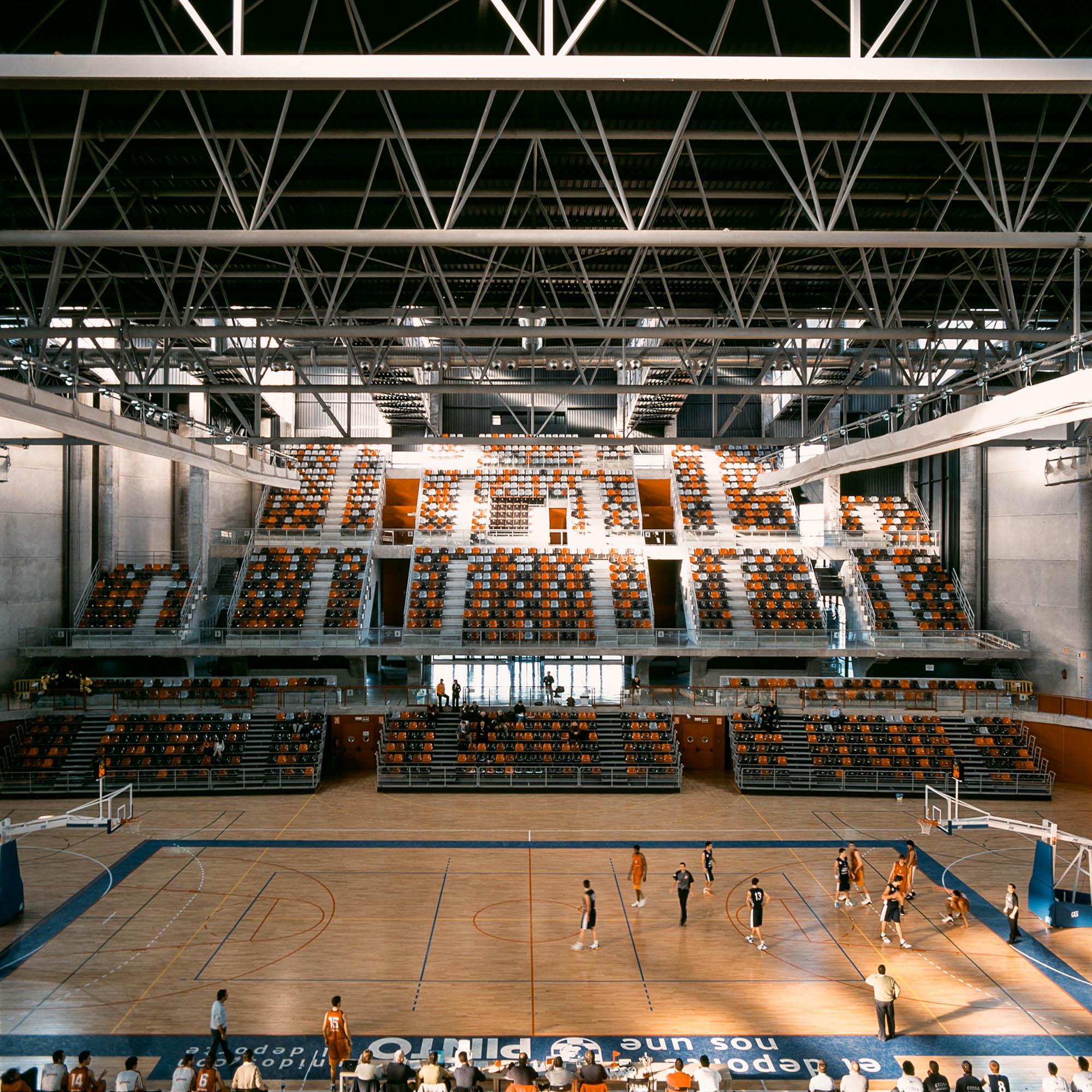 Polideportivo Munucipal Príncipes de Asturias en Pinto